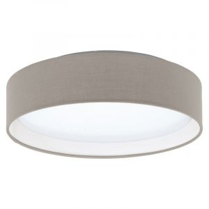 Stoffen Witte taupe plafonniere Violette