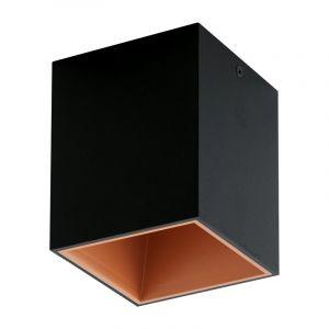 Moderne Zwarte Goud plafonniere Cynthia