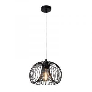 Zwarte Vinti hanglamp, modern