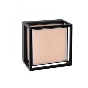 Vierkante Singa buiten wandlamp, zwart