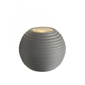 Grijze design buitenlamp Ayo, up/down lichteffect