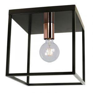 Moderne plafondlamp Arthur, Zwart