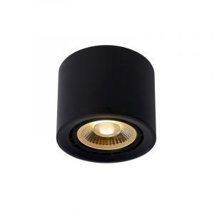 Moderne plafondlamp Fedler, Zwart