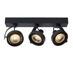 Moderne plafondlamp Dorian, Zwart