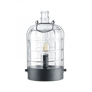 Lantaar, zwarte tafellamp Jacco