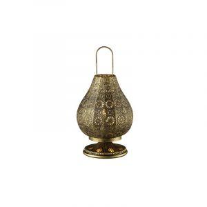 Brocante, antieke tafellamp Koot