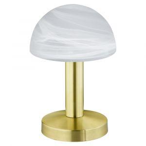 Klassieke, marmeren tafellamp Eldora