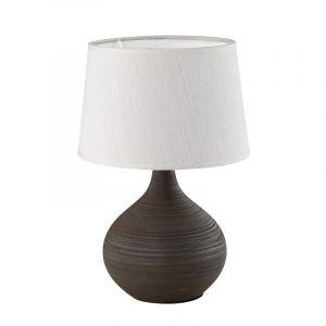 Tafellamp Yesmin - Bruin, Bruin