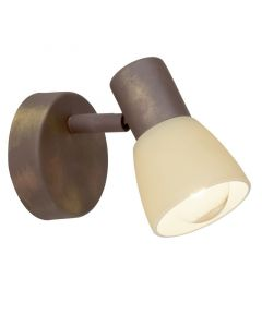 Oud Koper wandlamp Aja