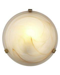 Bruine plafondlamp Elja