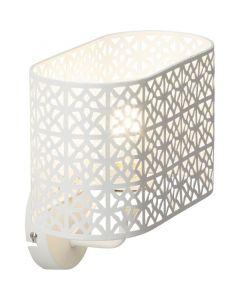 Moderne wandlamp Alya, Wit