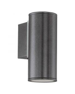 Maron buitenlamp gegalvaniseerd staal antraciet