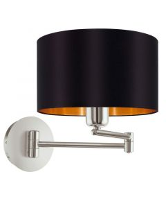 Andrew wandlamp - Nikkel-Mat