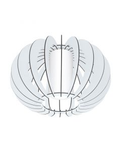 Aria plafondlamp - Wit