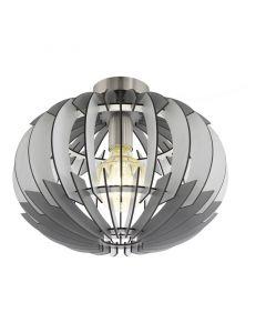 Chadia plafondlamp - Nikkel-Mat