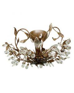 Roestkleurige Sidney I plafondlamp