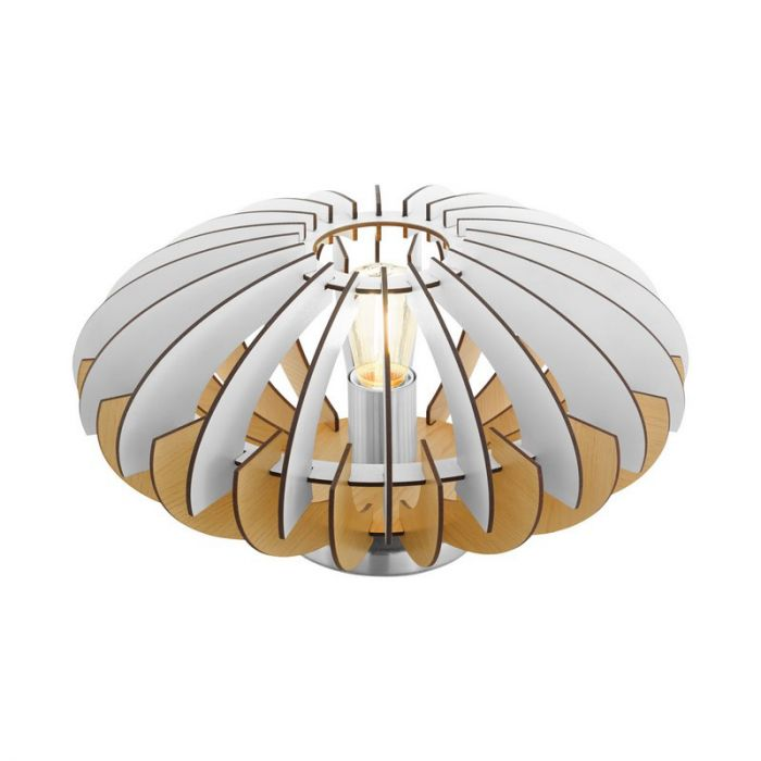 Chad tafellamp - Nikkel-Mat