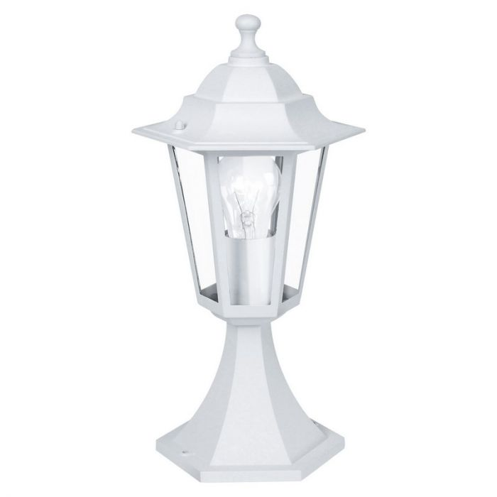 Amie buitenlamp gegoten aluminium wit