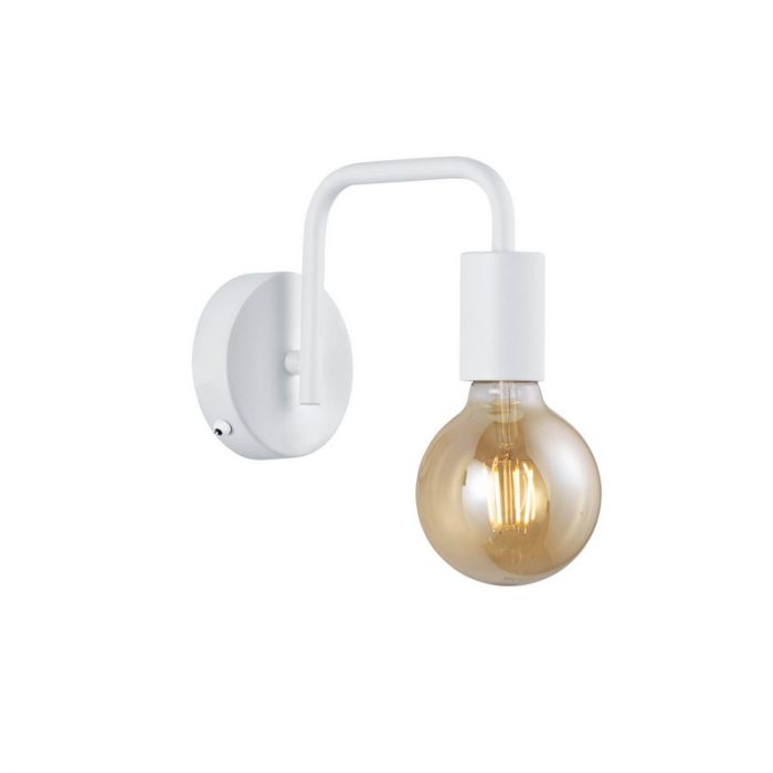 Witte wandlamp Ritual, Modern