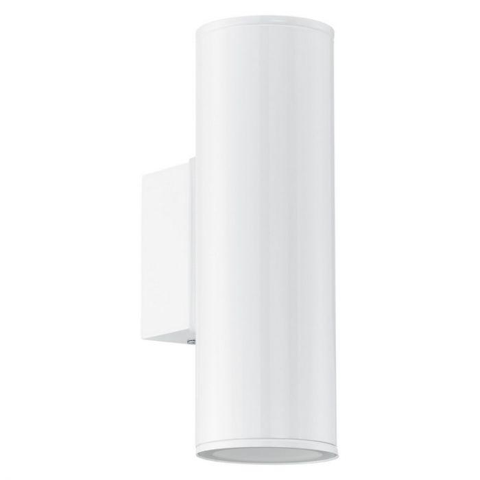Marlijne buitenlamp gegalvaniseerd staal wit