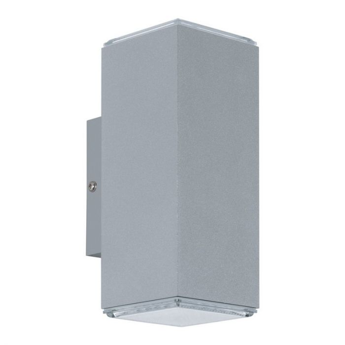 Nadira buitenlamp aluminium zilver