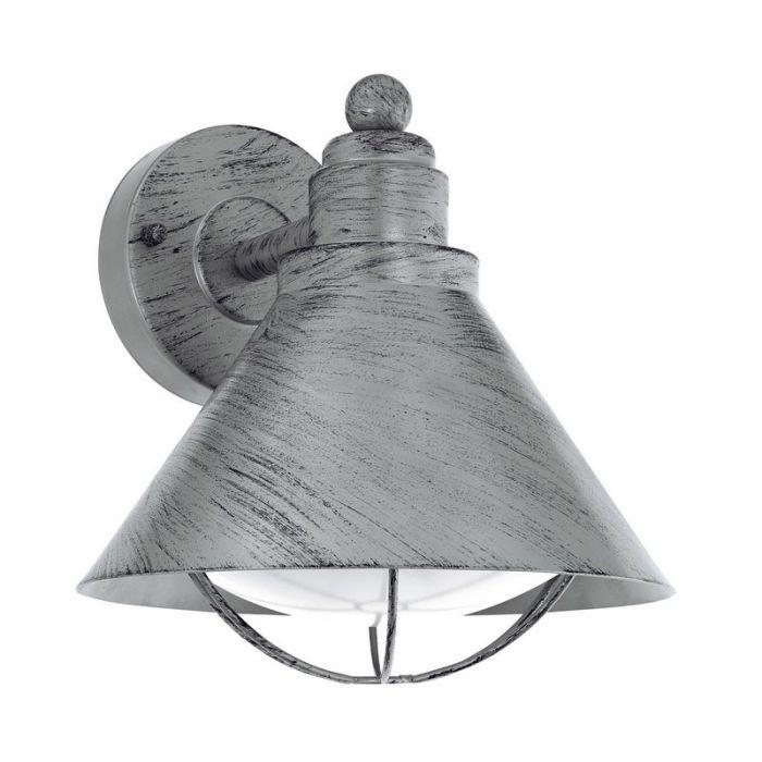 Alkan buitenlamp - Antiek Zilver