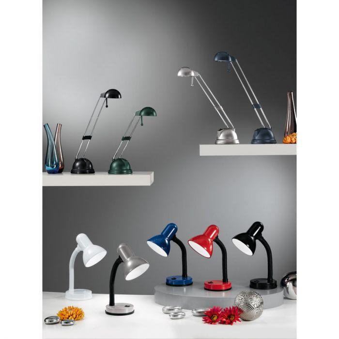 Kleine bureaulamp Granza - Rood