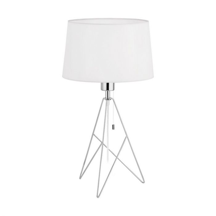 Stalen tafellamp Viola chroom