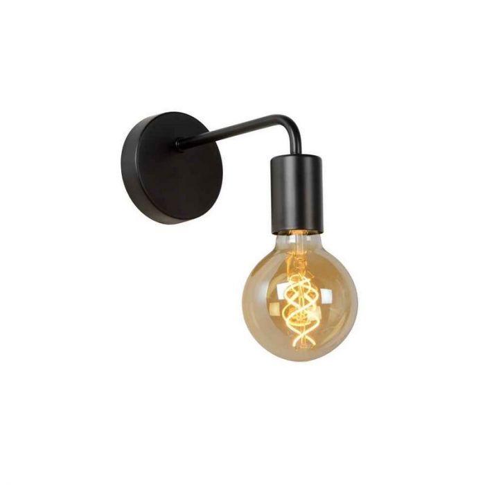 Zwarte wandlamp Scott