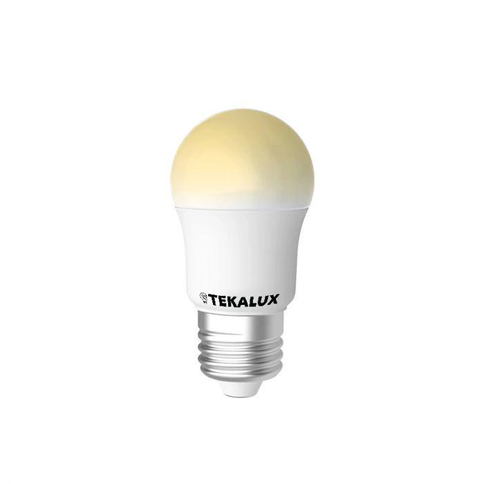 Tekalux Horan E27 LED kogellamp, 2700k