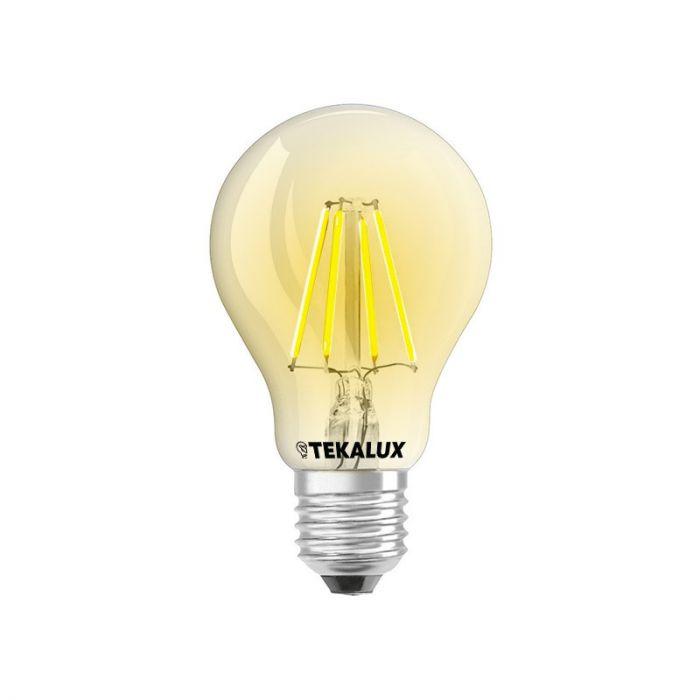 Dimbare Tekalux Yona E27 A60 LED lamp, 2700k, 5w