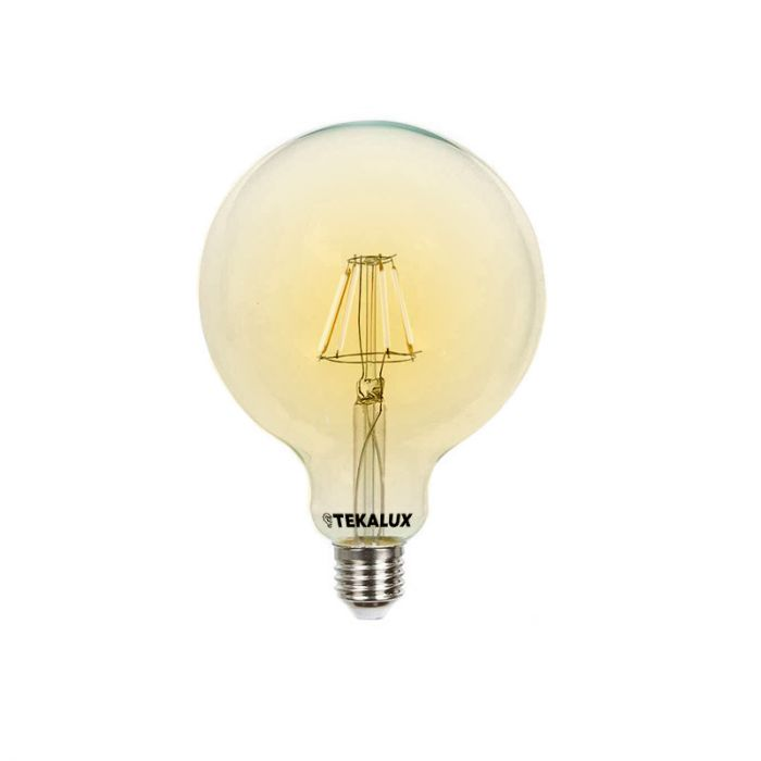 Olucia dimbare E27 grote bollamp George, G95, 5w, extra warm wit