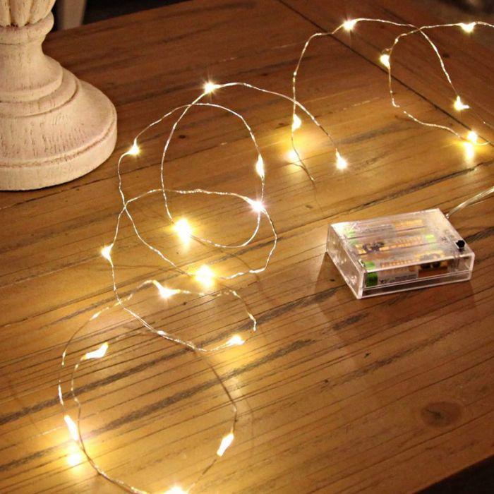 LED kerstverlichting op batterij