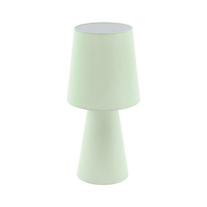 Stoffen tafellamp Meta groen