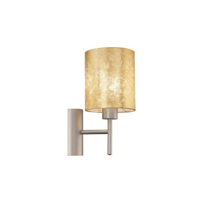 Stalen wandlamp Megan beige