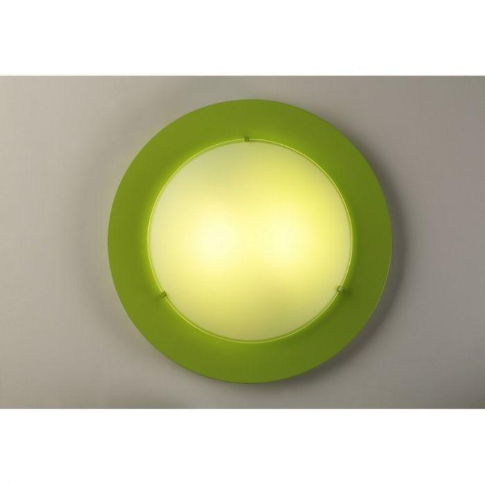Groene plafondlamp kinderkamer