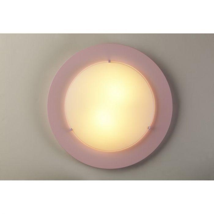 Roze plafondlamp kinderkamer