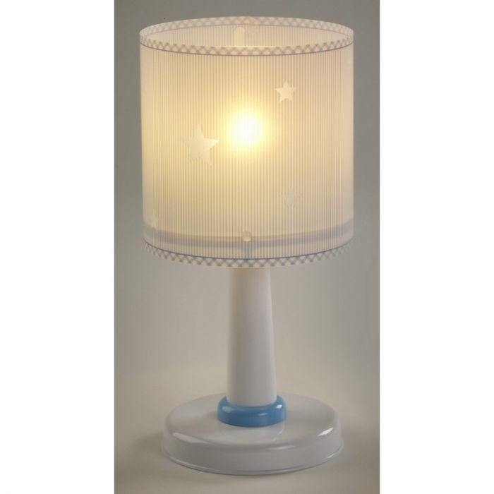 Jongenskamer tafellamp Sterren - Blauw