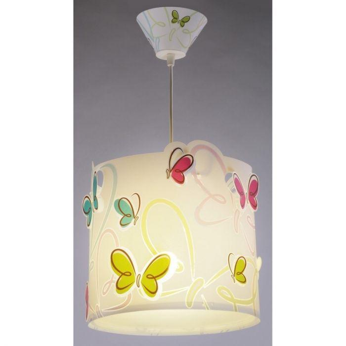 Kinderkamer hanglamp Vlinders