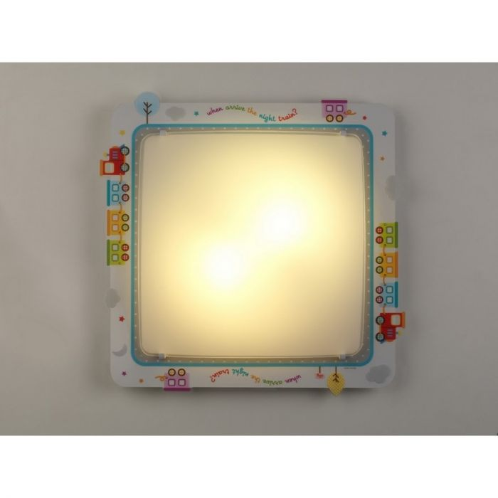 Babykamer plafondlamp Treintje