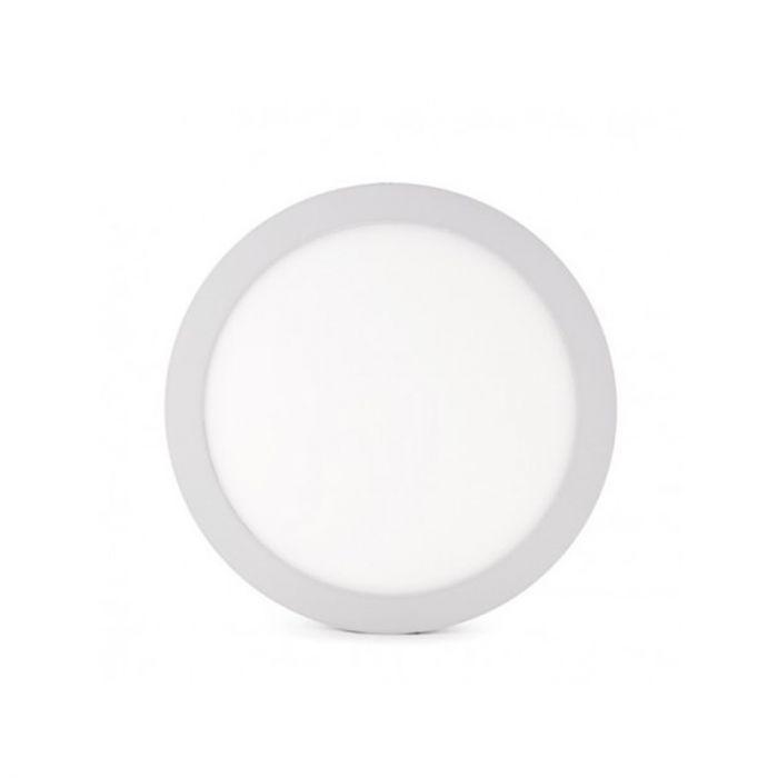 Ronde witte plafondlamp Rolo 12w, 4000k, niet dimbaar