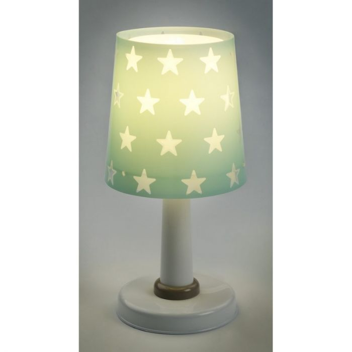 Groene Sterren tafellamp