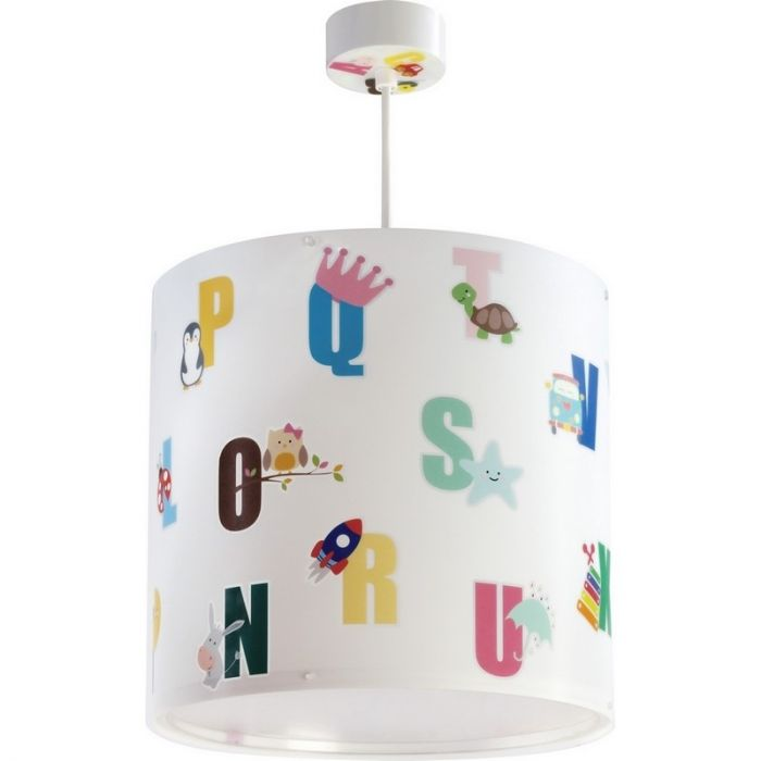 Kinder hanglamp ABC