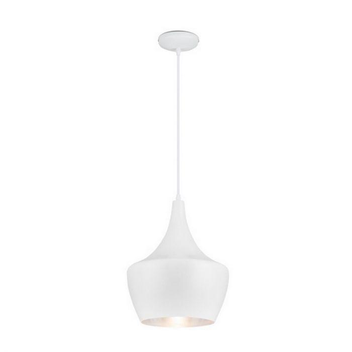 Salina hanglamp wit/zilver, design