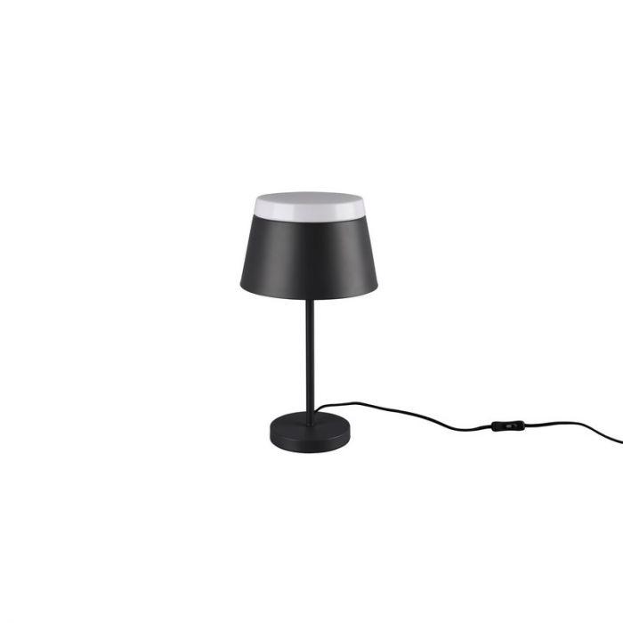 Antraciete Tafellamp Adanya, metaal, modern