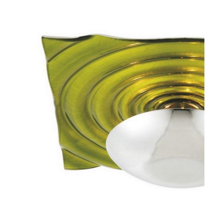 Groene Zelda plafondlamp, vierkant