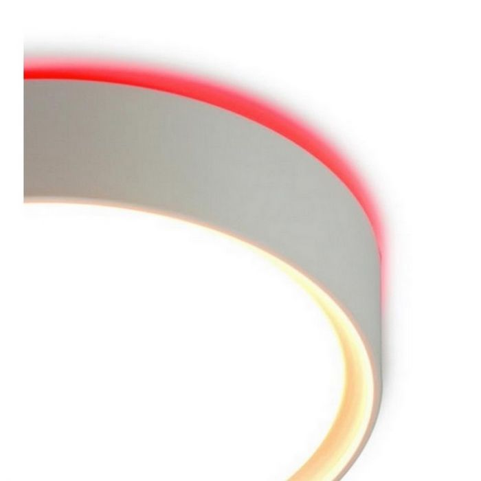 Plafondlamp Alex modern, rood backlight