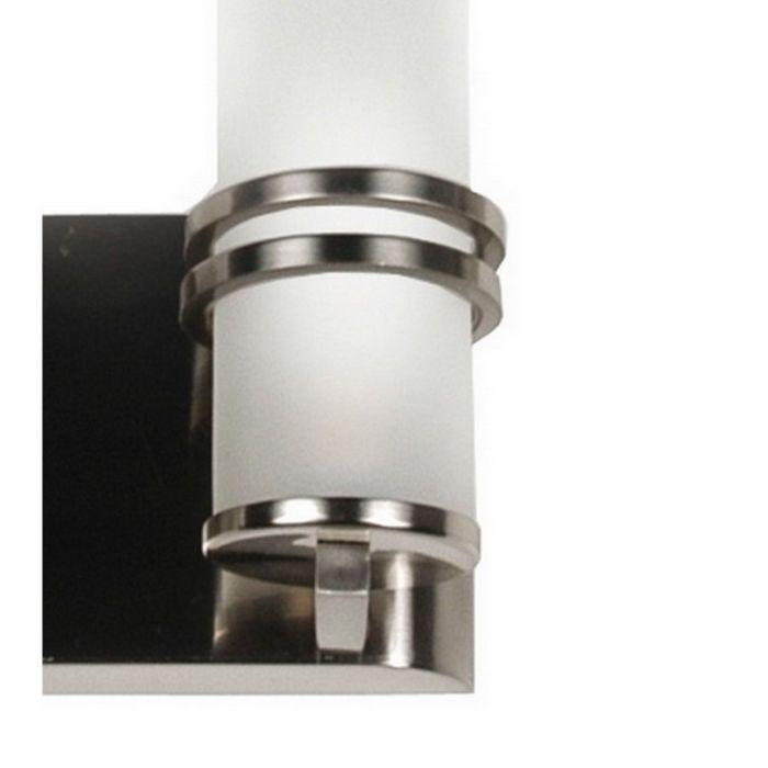 Klaudia wandlamp modern, glazen cilinders