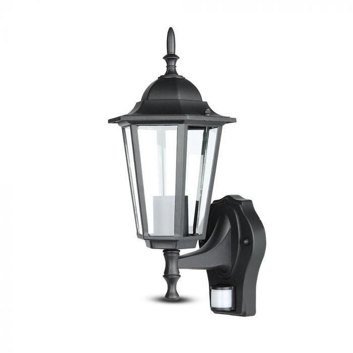 Zwarte buiten wandlamp Percy