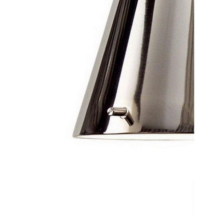 Klassieke wandlamp Ishra, chroom